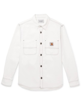 cotton-twill-overshirt by carhartt-wip