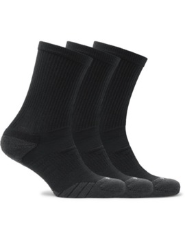 Three Pack Everyday Max Cushion Crew Dri Fit Socks by Nike Training
