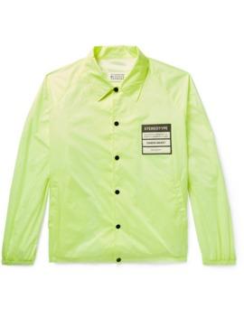 Appliquéd Shell Jacket by Maison Margiela
