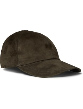 nubuck-baseball-cap by brioni
