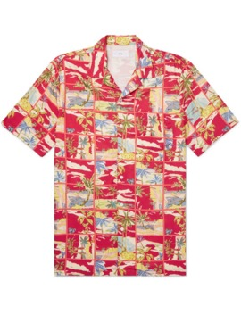 vacation-camp-collar-printed-woven-shirt by onia