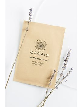 Orgaid Greek Yogurt &Amp; Nourishing Organic Mask by Orgaid