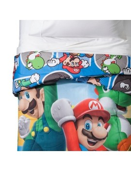 Nintendo Mario Twin Comforter by Shop This Collection