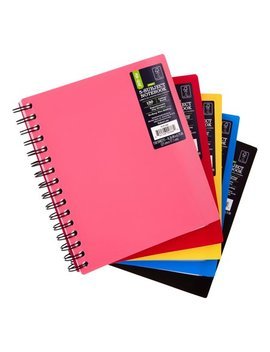 """Pen + Gear 5 Subject Notebook With Repositionable Dividers (8.26 X 6.75"""") by Pen+Gear"""