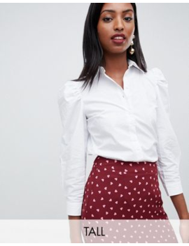 Fashion Union Tall Shirt With Peter Pan Collar by Fashion Union