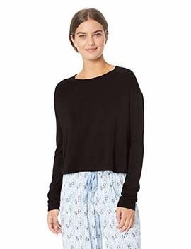 Mae Women's Standard Supersoft French Terry Long Sleeve Pullover by Mae