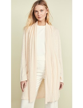 linen-shawl-cardigan by theory