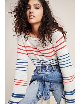 Melinda Striped Pullover by Cupcakes And Cashmere