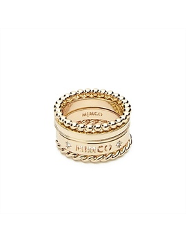 Stellar Ring Stack by Mimco