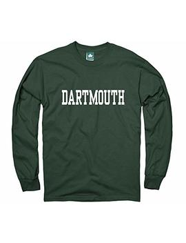 Ivysport Cotton Long Sleeve T Shirt With Classic Logo School Color Ncaa Colleges by Ivysport