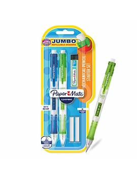 Paper Mate Clearpoint Mechanical Pencils With Refills, 0.9mm, Hb #2, 2 Pack by Paper Mate