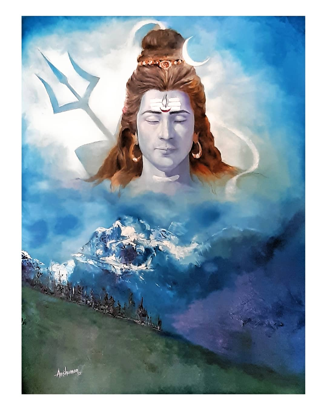 Shiva-paintings