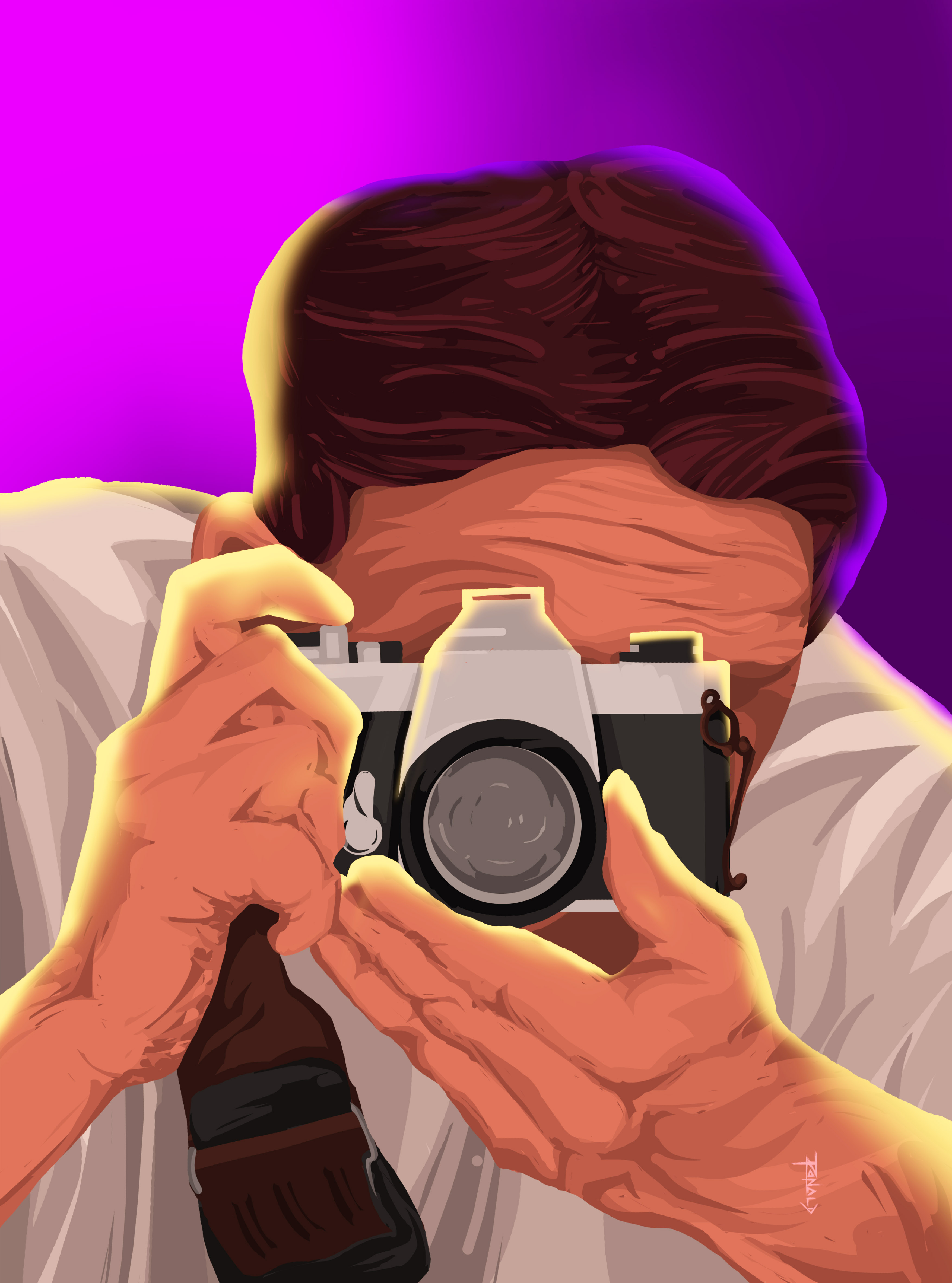 Photojournalist-illustration
