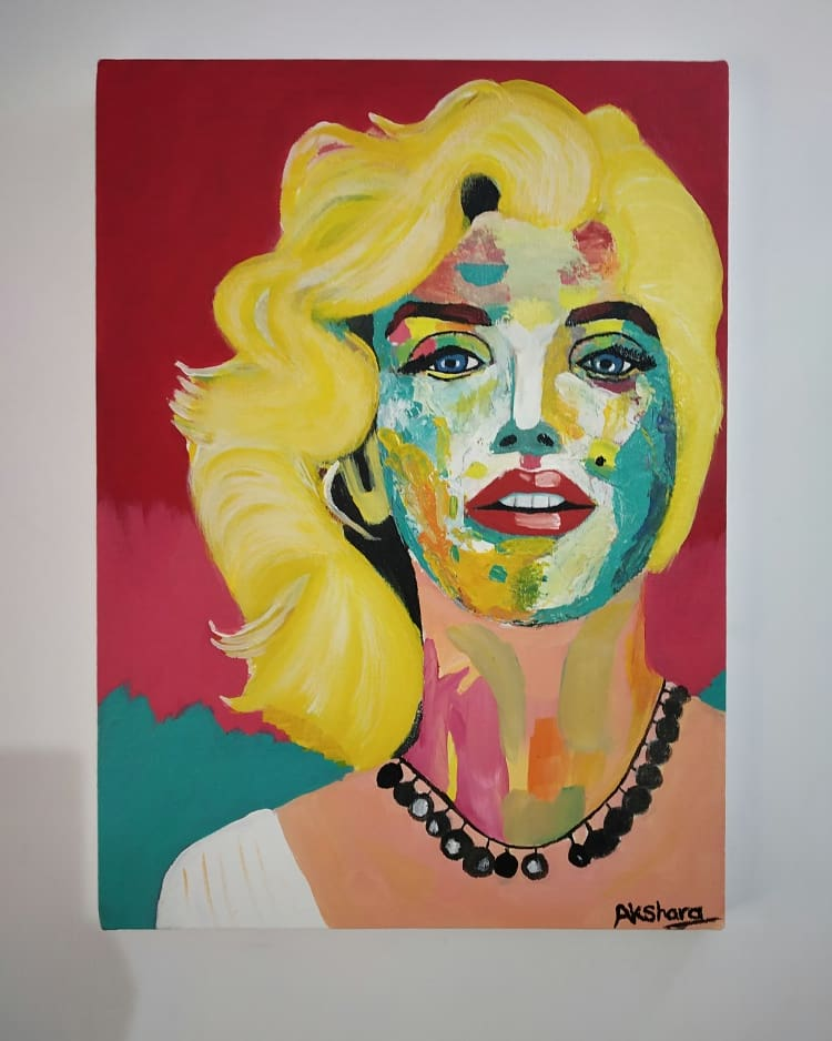 Marilyn Monroe-paintings