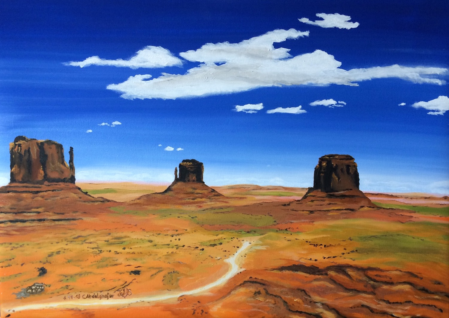 Monument Valley-paintings