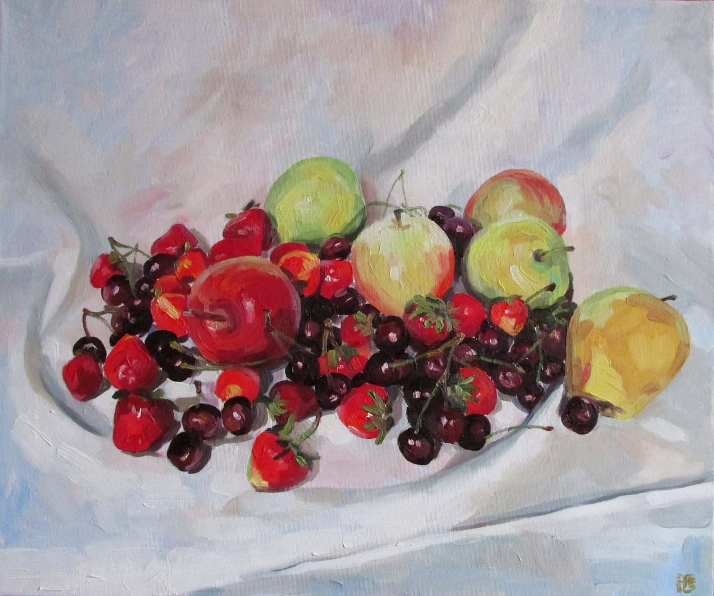 Summer Fruits-paintings