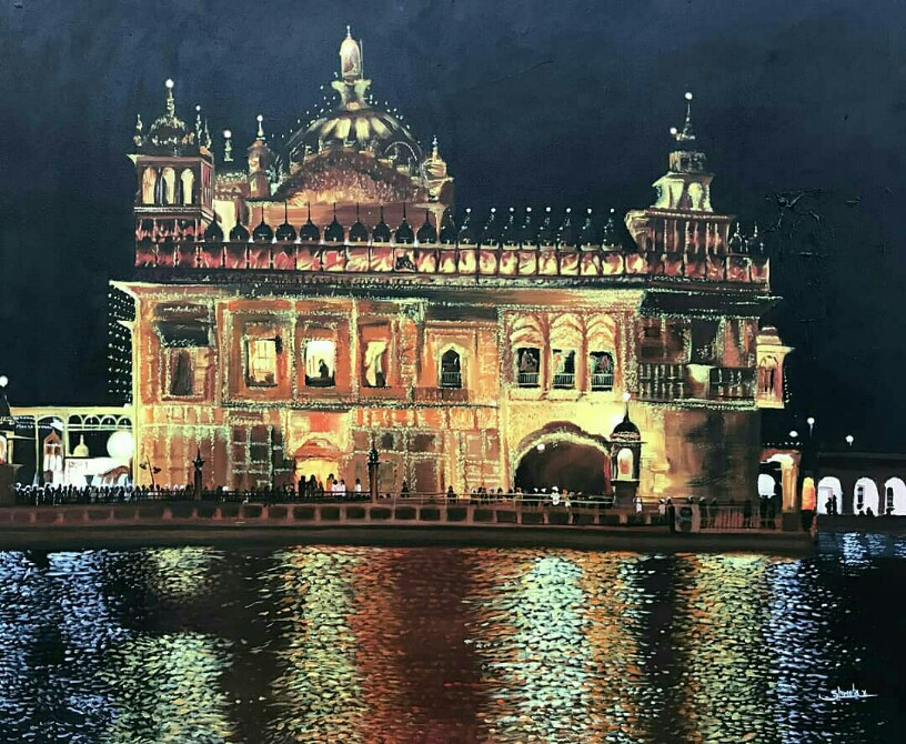 Golden Temple-paintings