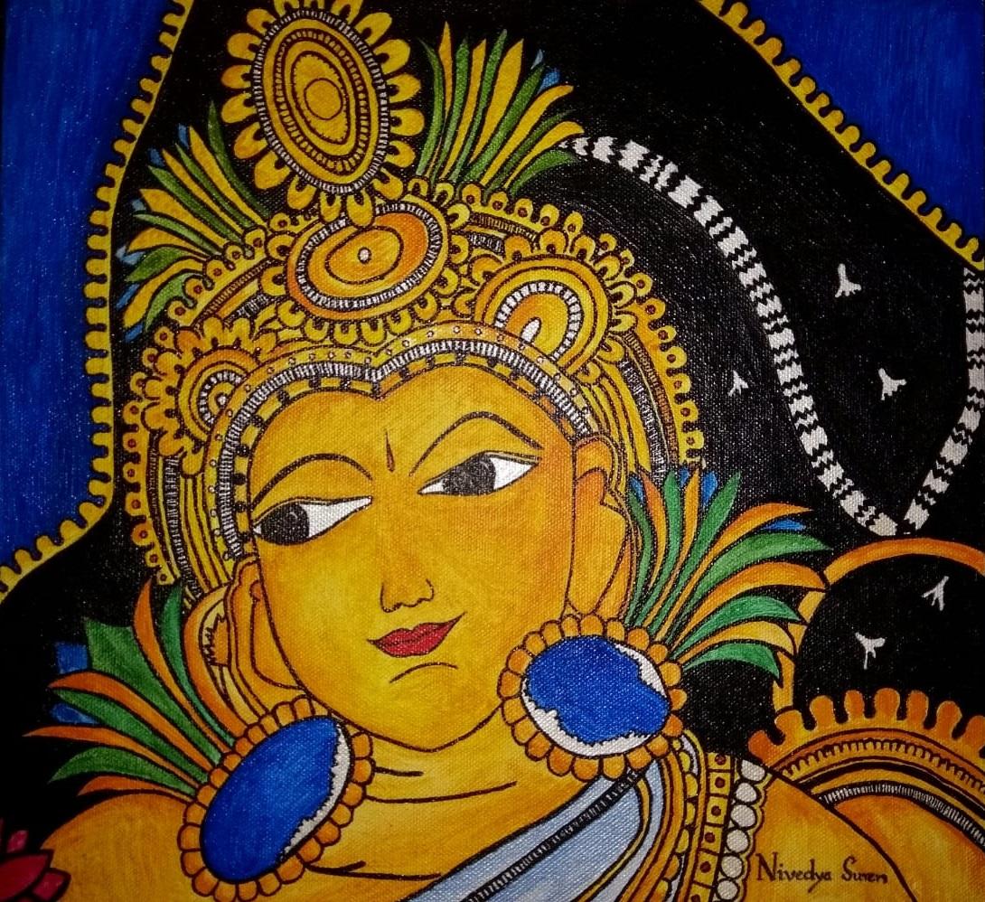Shrikanta Original Canvas Painting-paintings
