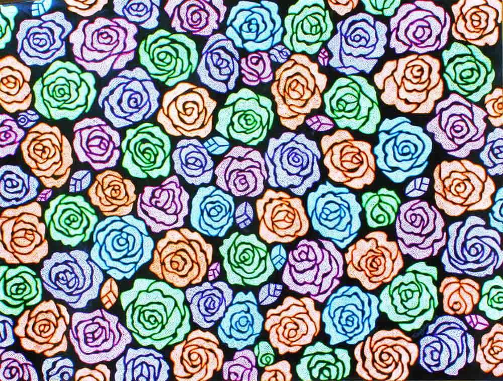Roses-paintings