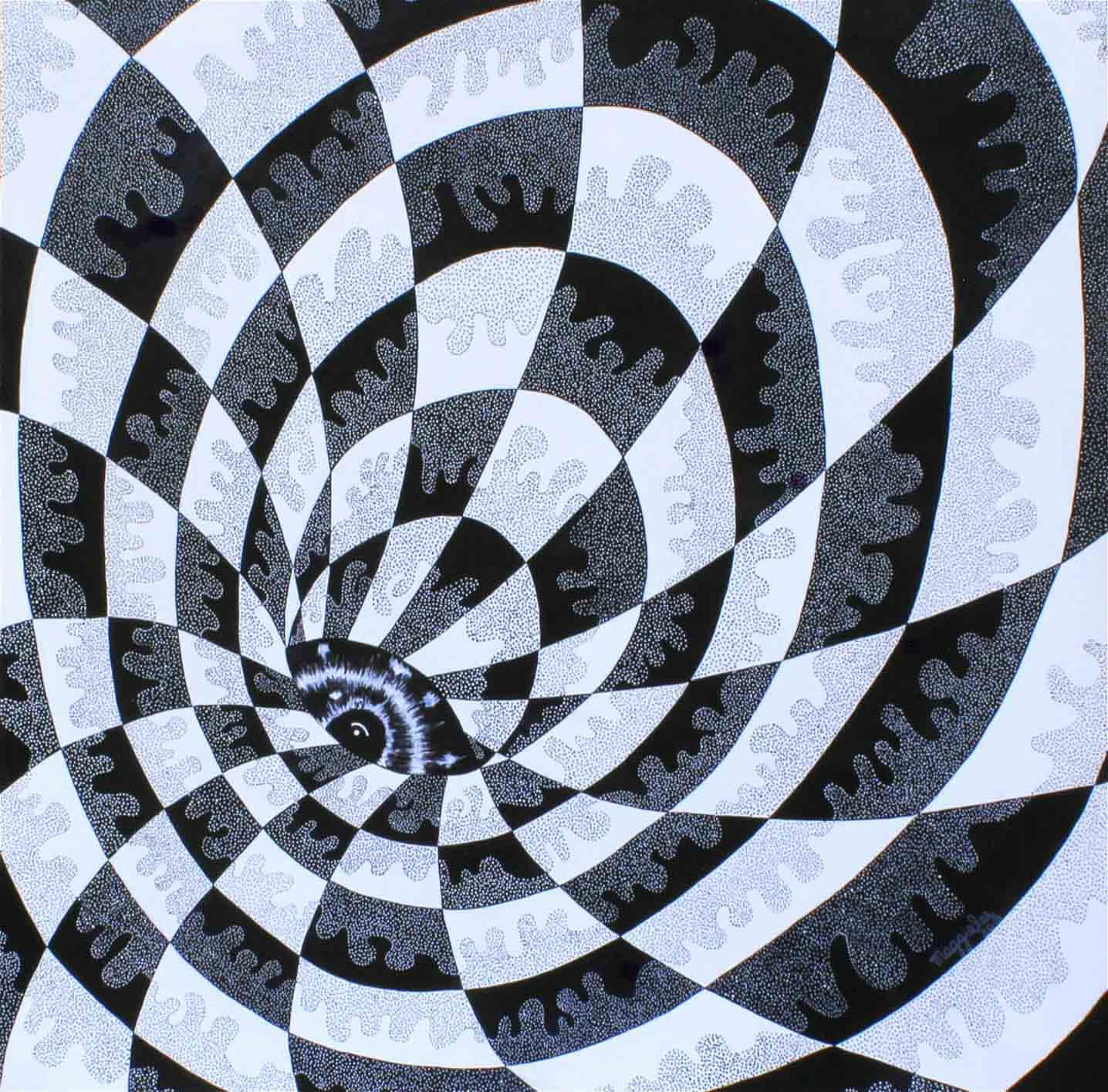 Hollow Eye-paintings