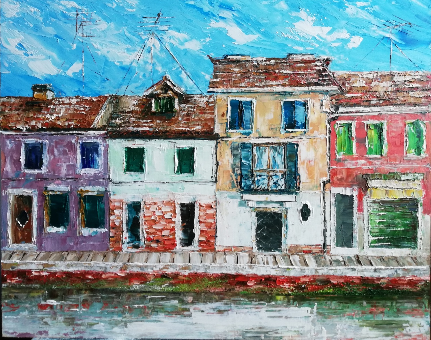 Burano Venice-paintings