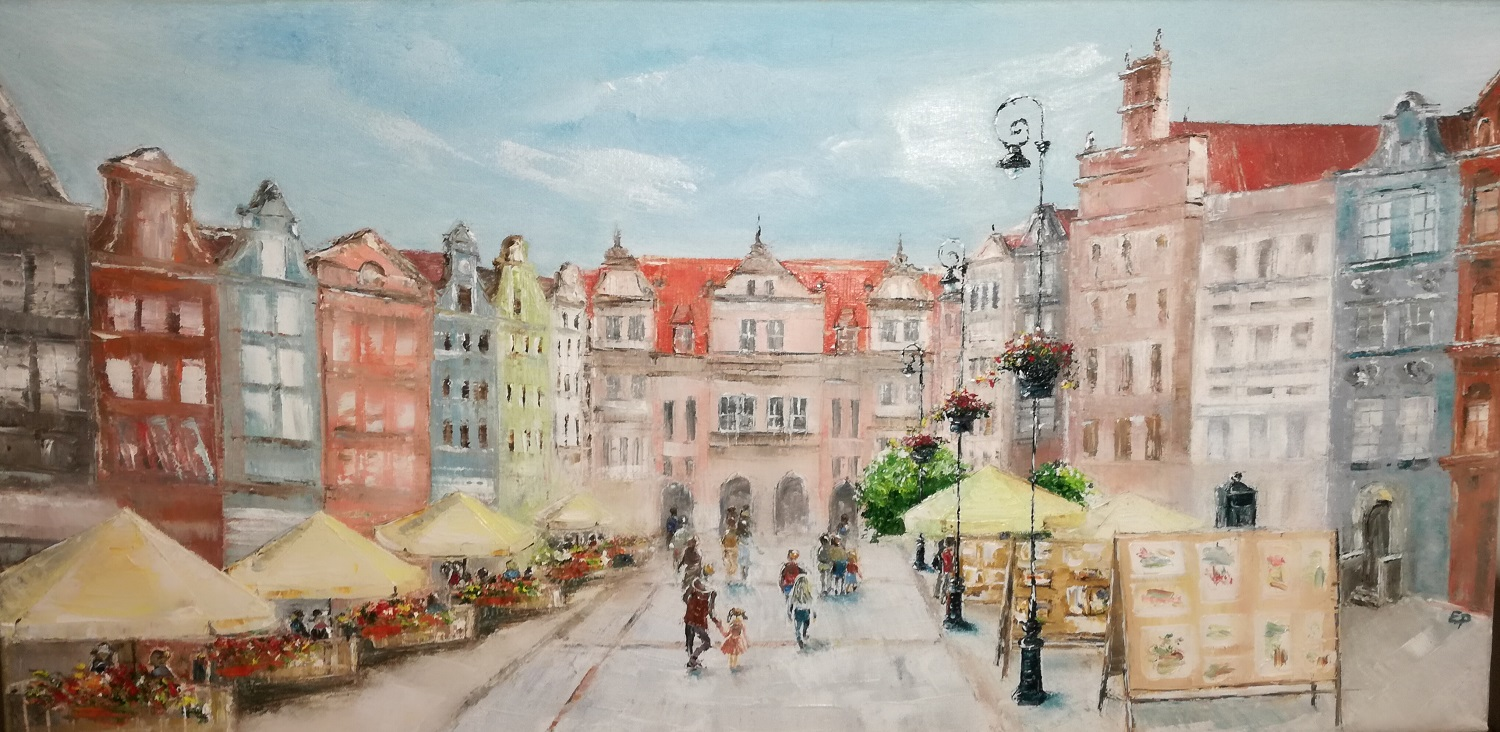 Gdansk Old Town-paintings