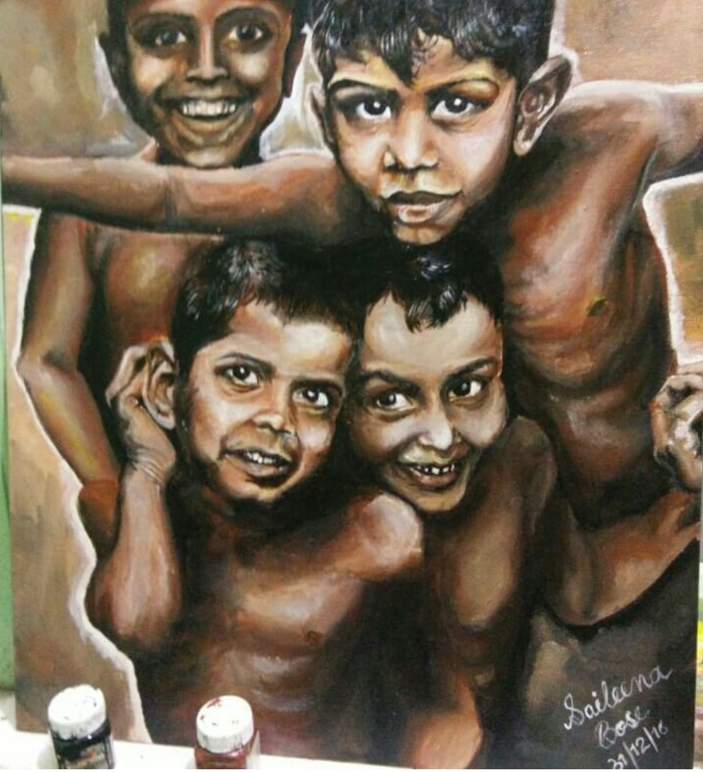 Childhood-paintings