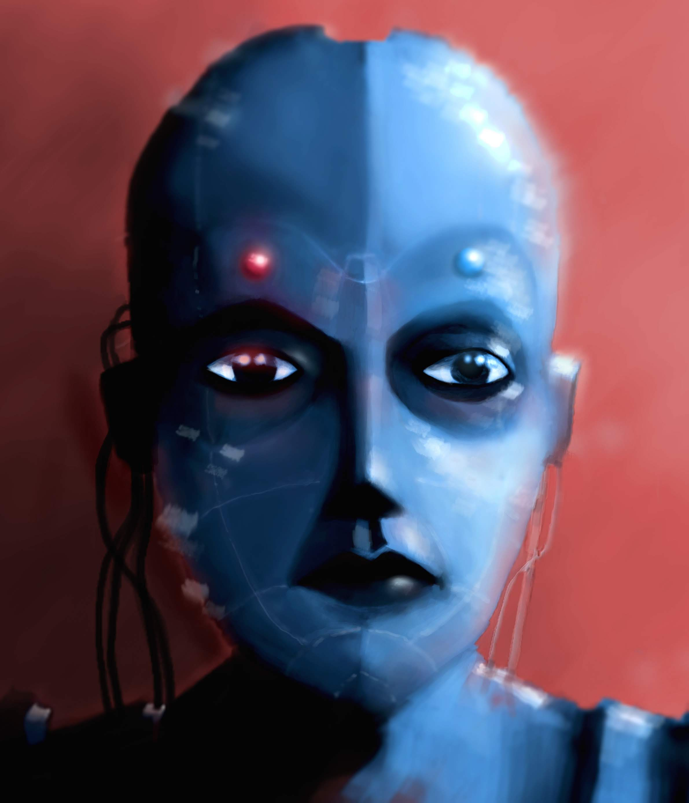 The Robot Girl-illustration