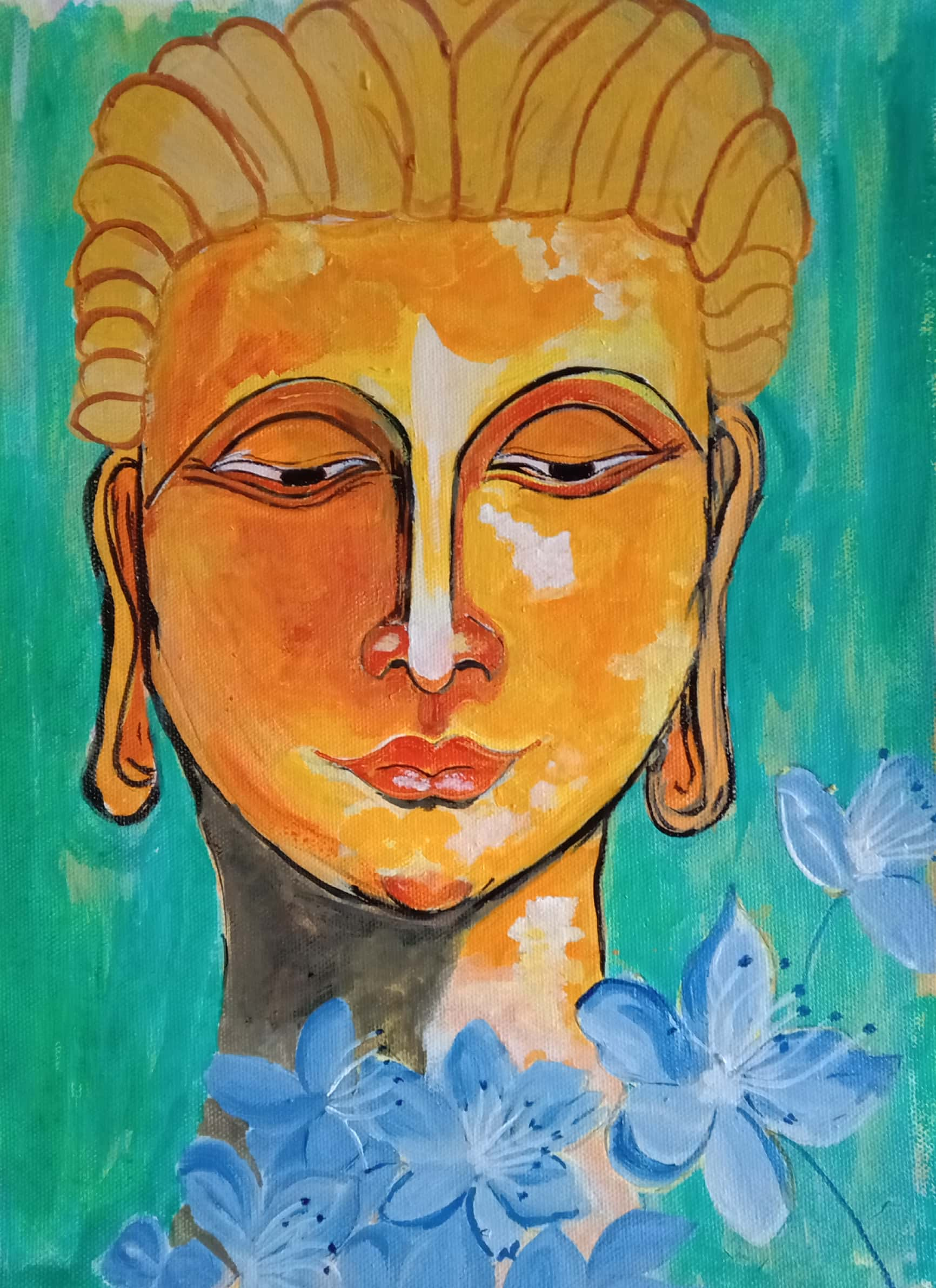 GAUTAM BUDDHA-paintings