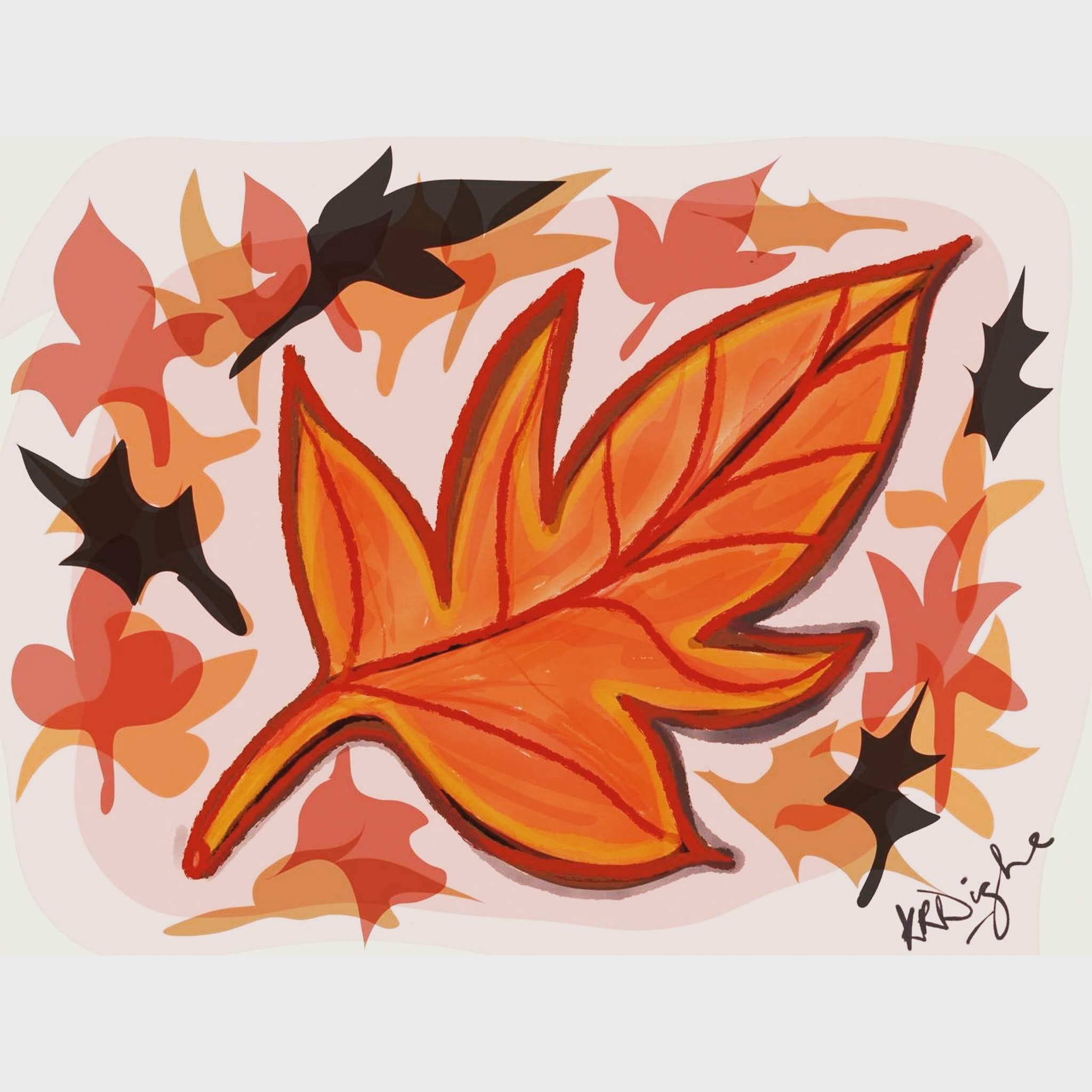 Autumn Leaves-illustration