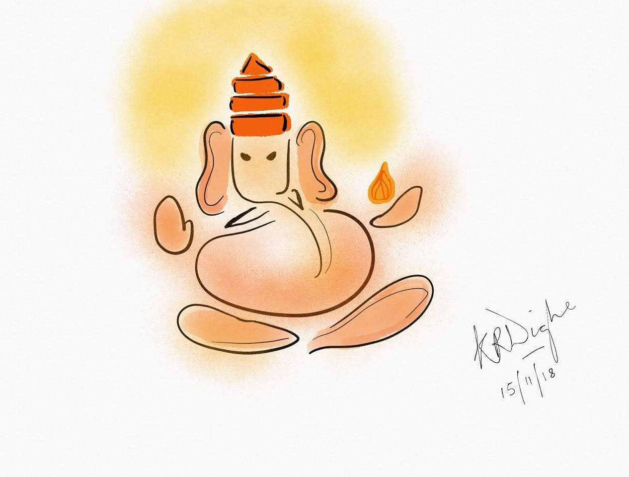 Sri Ganesha-illustration