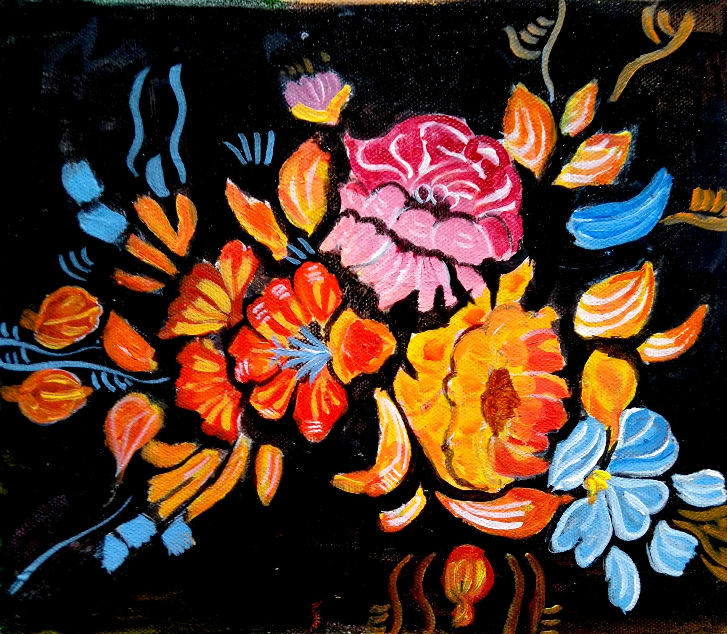 THE FLOWERS-paintings