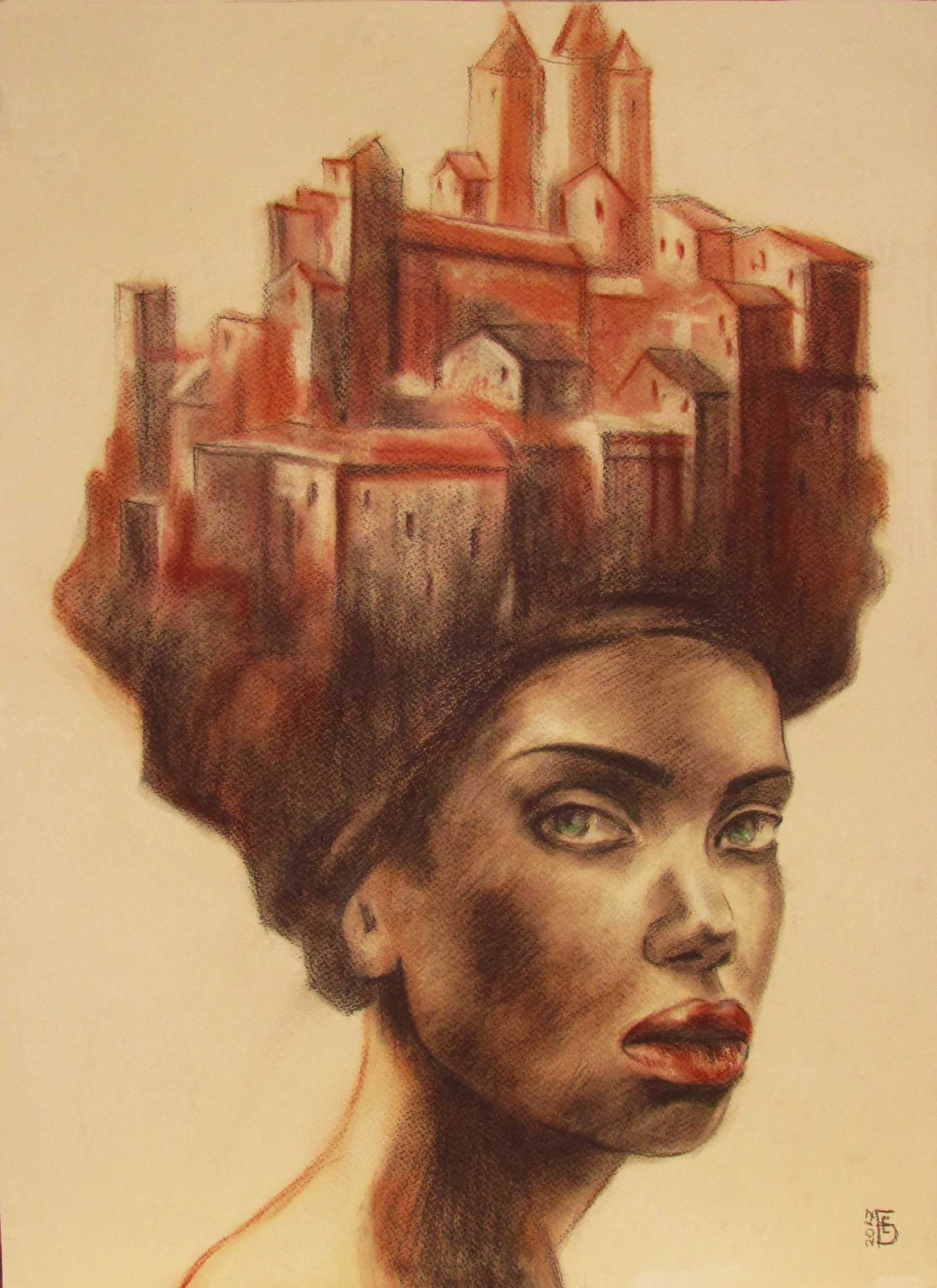 Nefertiti-drawing