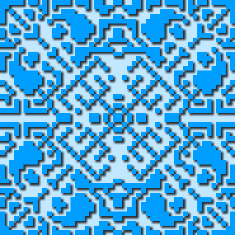 Blue Pattern-illustration