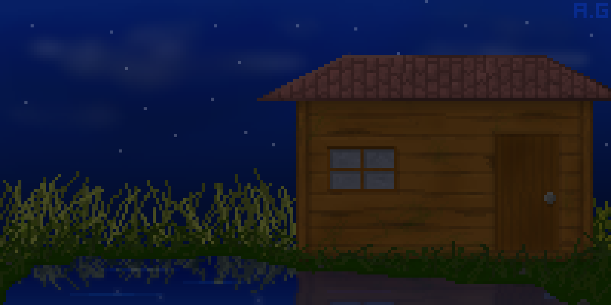 The Swamp Cabin-illustration