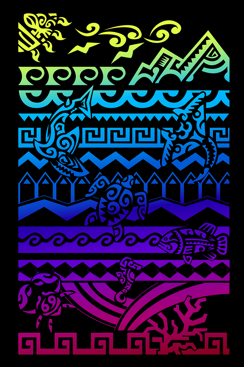 Maori Colors-illustration