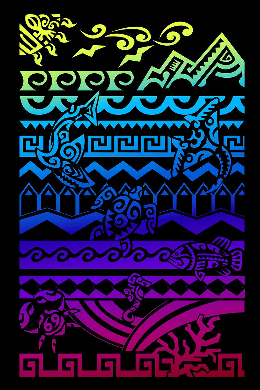 Maori Colors-illustration