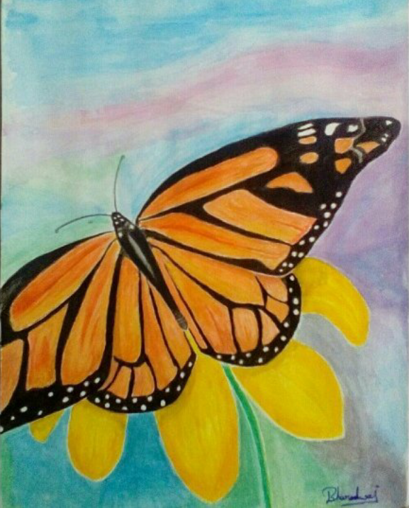 Butterfly-painting Showflipper