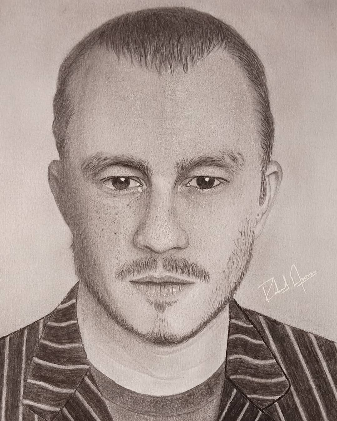 Heath Ledger-drawing