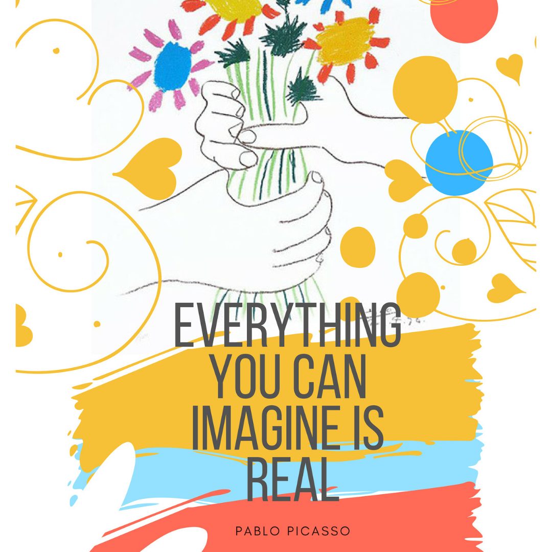 Pablo Picasso Imagine-digital sketches Showflipper