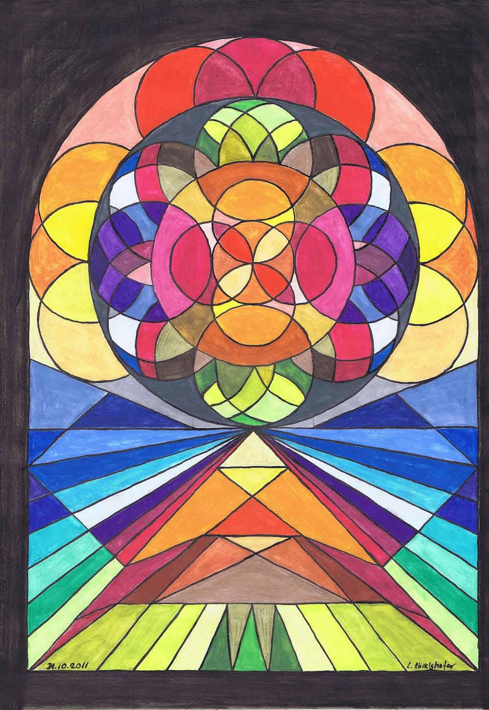 Church Window -drawing Showflipper