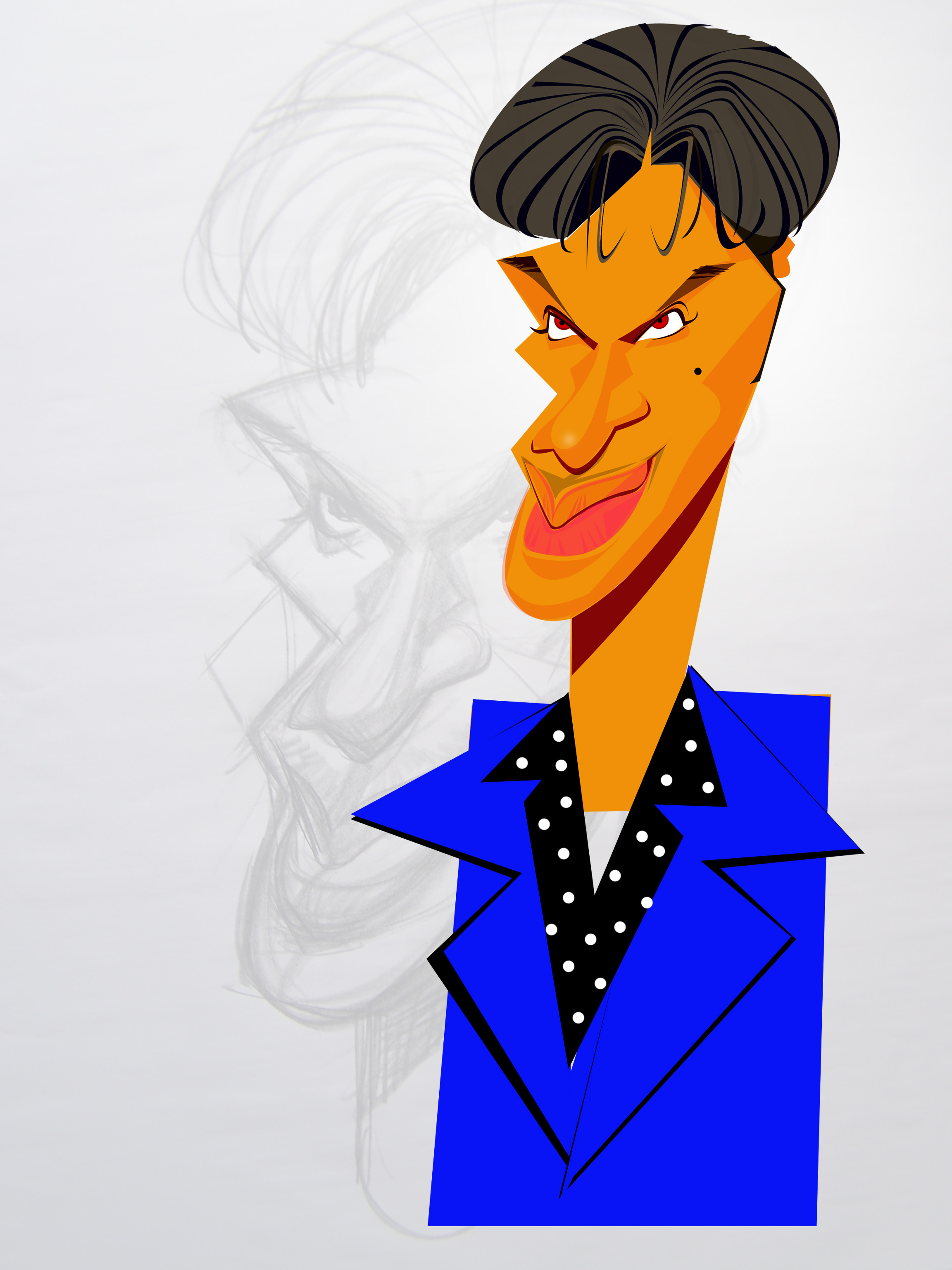 Prince -digital sketches Showflipper
