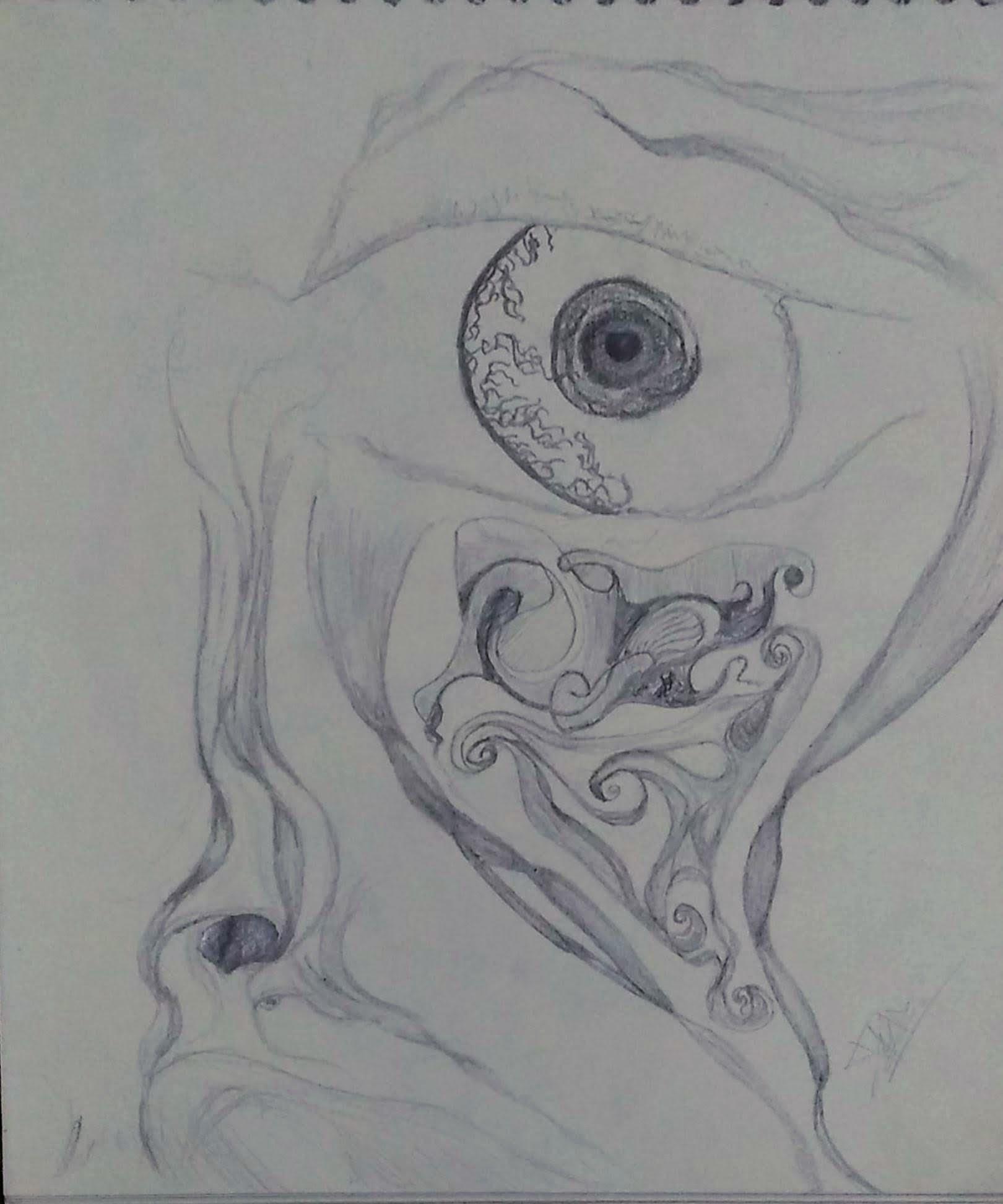 Flare -drawing Showflipper by Deepak Kumar Meena
