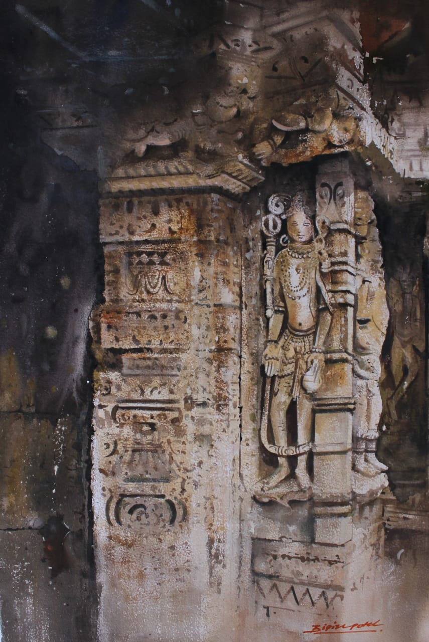 Ran Ki Vav  Patan-paintings Showflipper