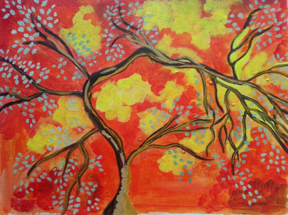 THE ABSTRACT TREE-paintings Showflipper