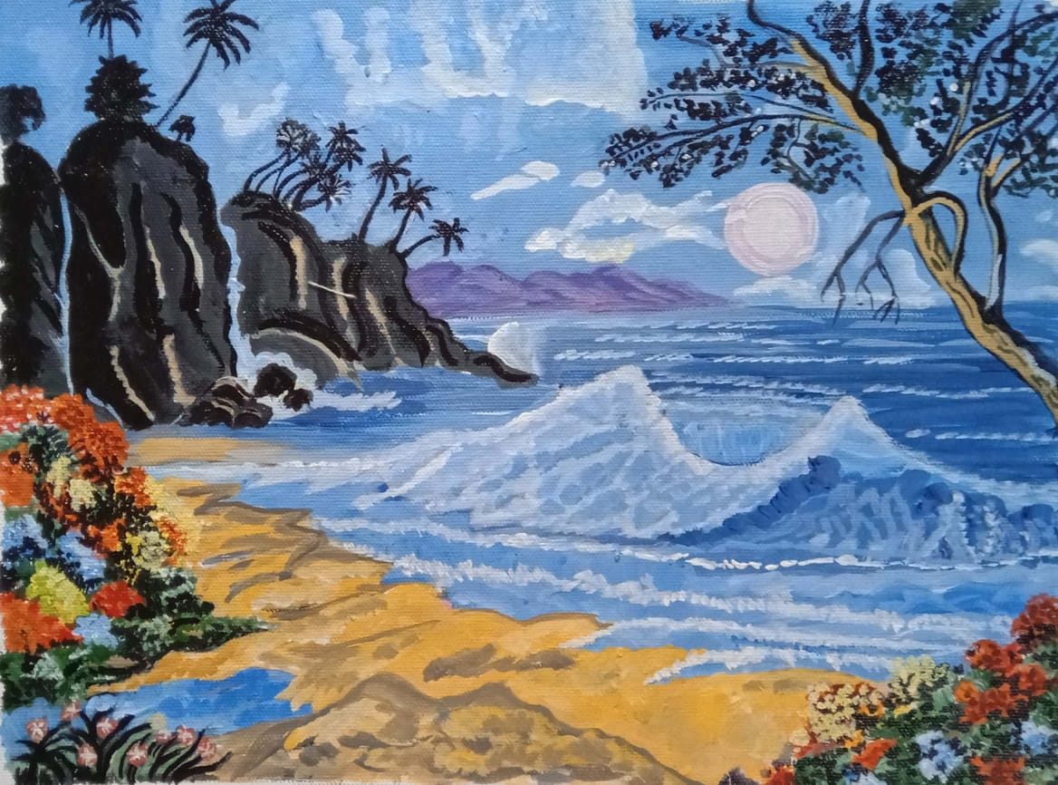 The Seascape-paintings Showflipper