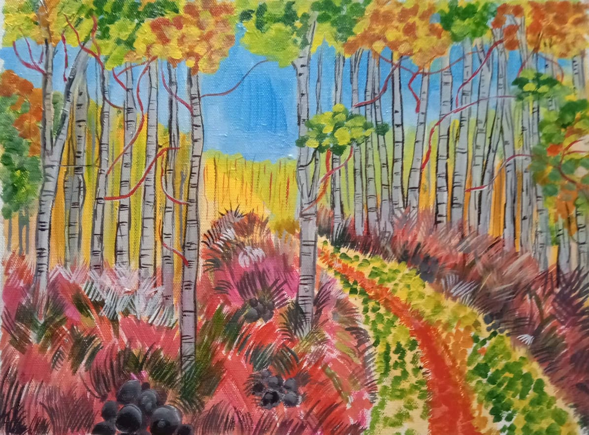 The Colorful Forest-paintings Showflipper