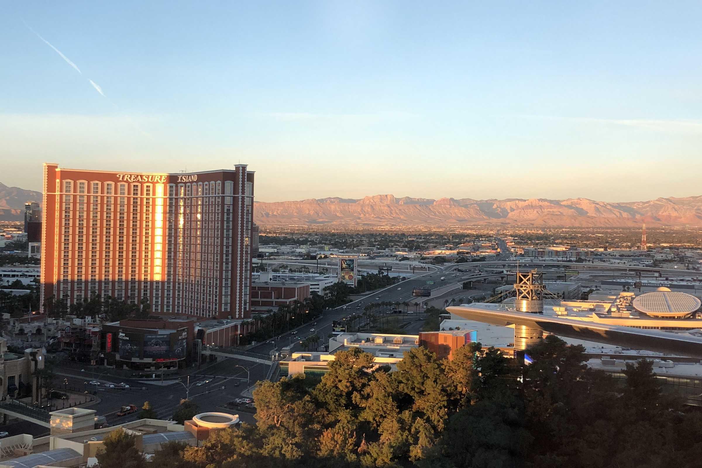 Las Vegas SkylineUSA-photography Showflipper