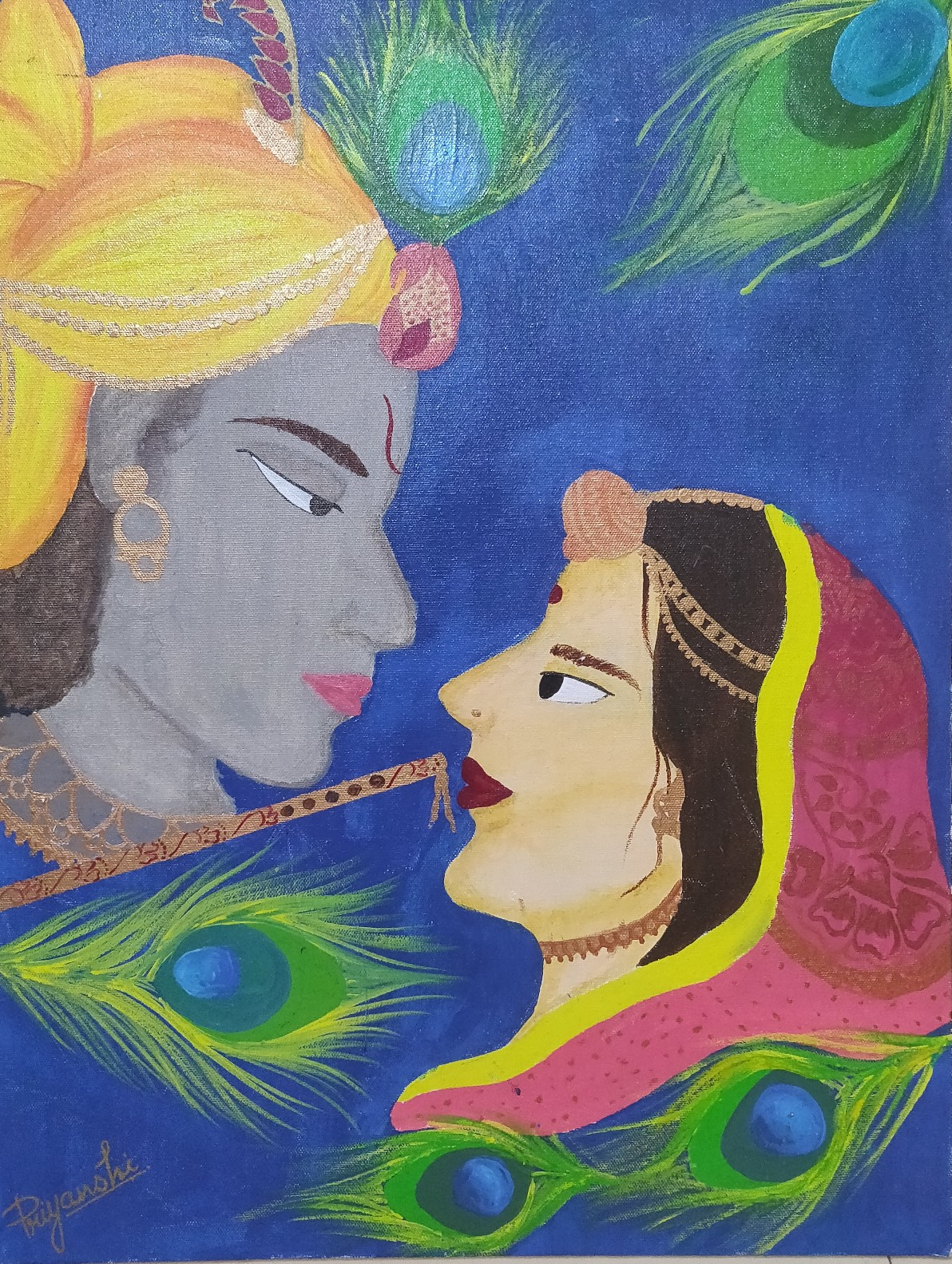 Radha Krishna-paintings Showflipper