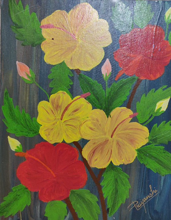 Hibiscus-paintings Showflipper